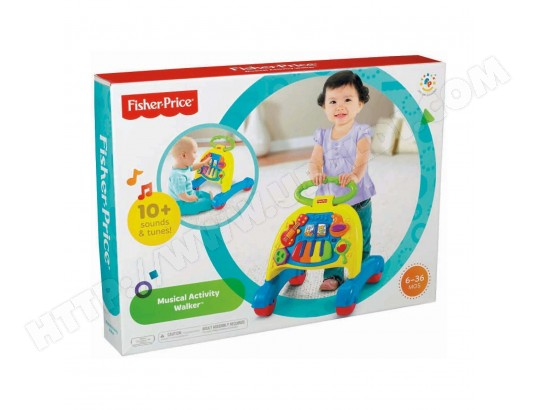 Fisher Price Trotteur porteur fisher-price trotteur musical v3254 pas cher | ubaldi