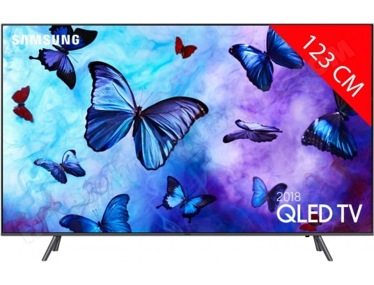 TV QLED 4K 123 cm SAMSUNG QE49Q6F 2018 Quantum Dot, Smart TV