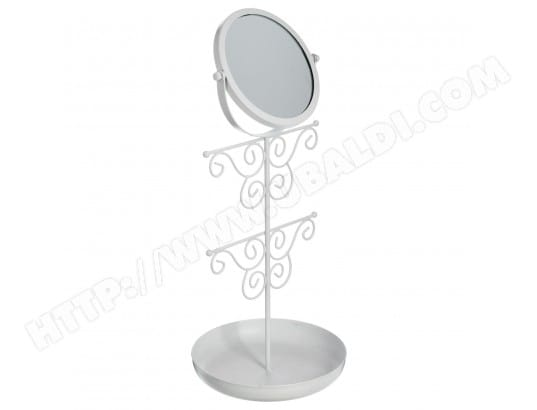 Porte bijoux miroir romance - Blanc ATMOSPHERA MA-23CA555PORT-0TB18 ...