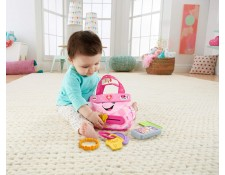 Collection « laugh and learn », jouet « my smart purse » (mon sac intelligent) FISHER PRICE MA-67CA387COLL-IGPKR