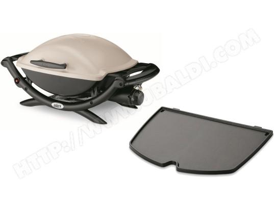 weber q 2000 titanium bbq gaz 6559 plancha fonte pas. Black Bedroom Furniture Sets. Home Design Ideas