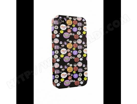 Kothai Coque Arriere Badges Apple Iphone 4** KOTHAI MA-71CA500KOTH-CVYZL