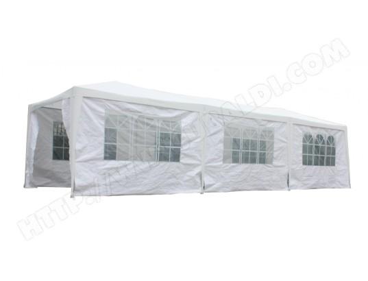 tente de r ception residence blanche 3x9m 777487 pas cher. Black Bedroom Furniture Sets. Home Design Ideas