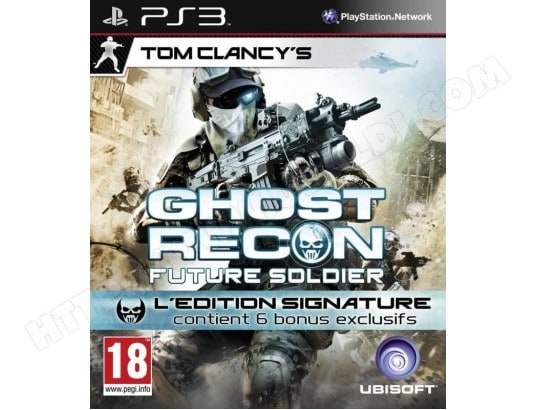 Ghost Recon : Future Soldier [Edition Signature] [PS3] UBISOFT MA-52CA334GHOS-6SVTR