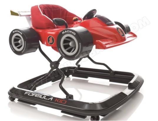 Trotteur JANE Formula kid rouge 6431G74 Pas