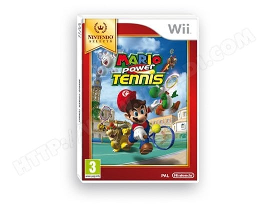 Jeu Wii NINTENDO Mario Power Tennis Select Wii