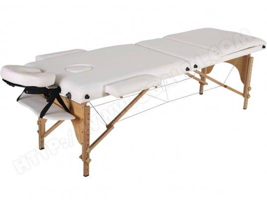 Table de massage pliante Puerto Rico - 3 Zones - 212 x 80 x ...