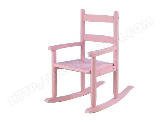 Rocking Chair Enfant KIDKRAFT Fauteuil A Bascule Rose