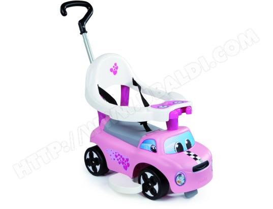 64216d660 Porteur SMOBY Auto Balade Fille - 445001 Pas Cher   UBALDI.com