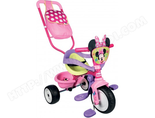 tricycle smoby be move confort minnie 444202 pas cher. Black Bedroom Furniture Sets. Home Design Ideas