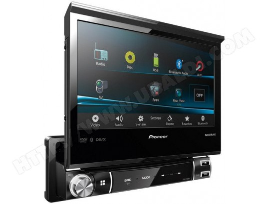 autoradio cd dvd pioneer avh x7500bt pas cher. Black Bedroom Furniture Sets. Home Design Ideas