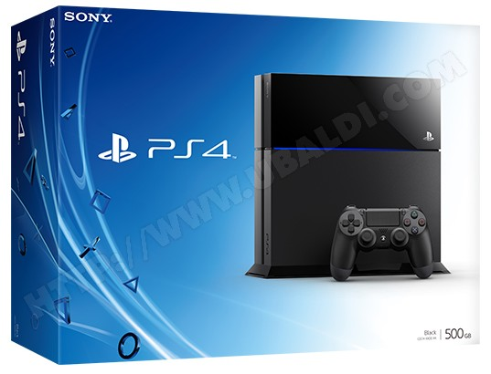 Console PS4 SONY Slim 500 Go