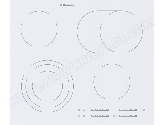 Electrolux Ehf6547iow Plaque Vitroceramique Pas Cher