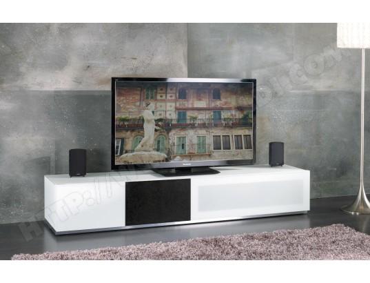 Vente Meuble Tv Munari Vr190 Blanc Pas Cher