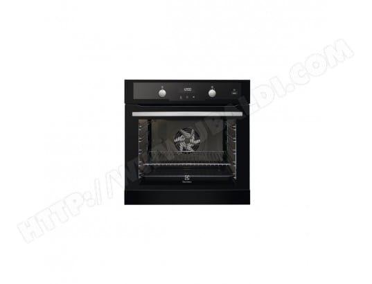 electrolux 1118621 pas cher four encastrable chaleur tournante puls e pyrolyse classe d. Black Bedroom Furniture Sets. Home Design Ideas