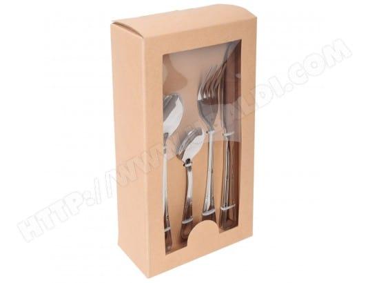 artmetal 3150030 pas cher m nag re 48 pi ces en inox. Black Bedroom Furniture Sets. Home Design Ideas