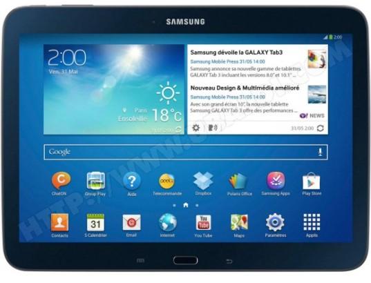 95df485cb34 Tablette tactile SAMSUNG Galaxy Tab 3 10.1   Wifi 16 Go noir GTP5210MKAXEF