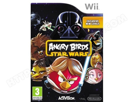 Jeu Wii ACTIVISION Angry Birds Star Wars Wii