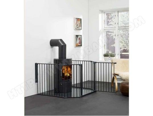 barriere pour poele a bois. Black Bedroom Furniture Sets. Home Design Ideas