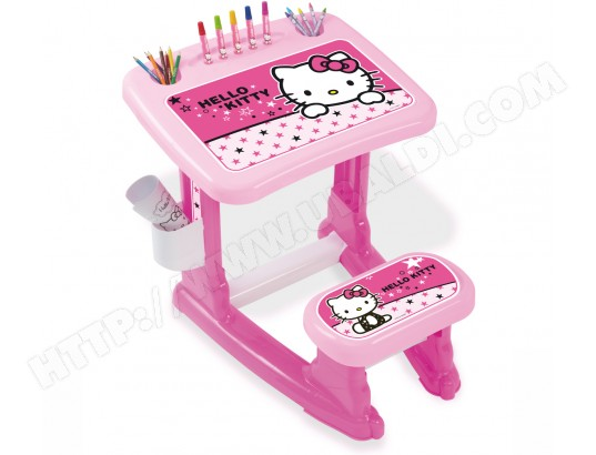 Bureau enfant canal toys bureau d activités hello kitty