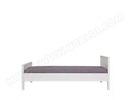 cadre de lit en pin fsc 90x200 joop couleur blanc drawer ma 72ca187cadr fxin9 pas cher. Black Bedroom Furniture Sets. Home Design Ideas