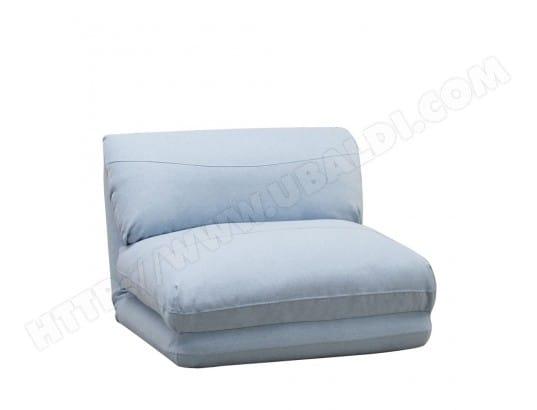 Chauffeuse Convertible 1 Place Nalo Couleur Bleu Pastel Drawer Ma 72ca94 Chau Lis3z Pas Cher Ubaldi Com