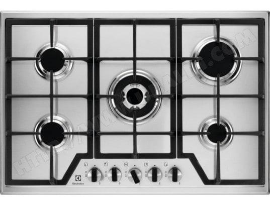 electrolux kgs7536x plaque gaz pas cher. Black Bedroom Furniture Sets. Home Design Ideas