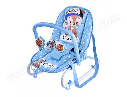 transat balancelle pour b b top relax lorelli bleu clair lorelli ma 43ca309tran g5gb0 pas cher. Black Bedroom Furniture Sets. Home Design Ideas