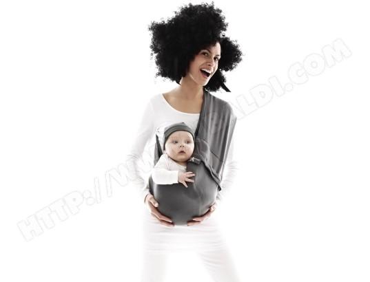 d64c53507ef9 Echarpe de portage WALLABOO Baby Sling suede gris - 03101711 Pas ...