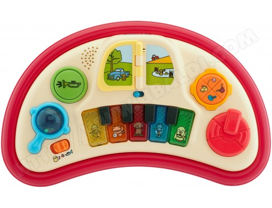 Trotteur CHICCO Band red wave piano Pas Cher