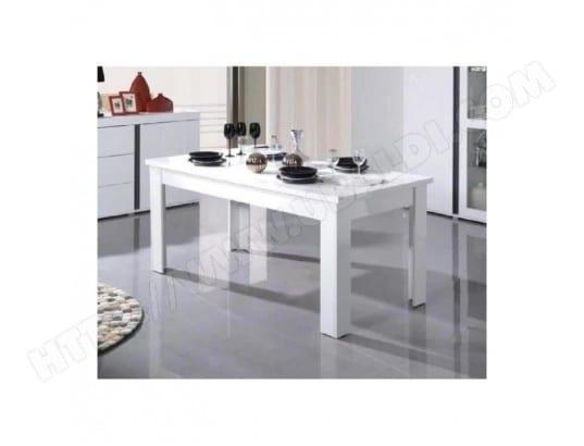 Table Extensible Pour Salle A Manger Avignon Blanche Laquee