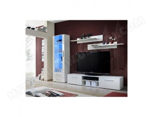 Meuble Tv Galino A Blanc Price Factory Ma 76ca43 Meub M6se6 Pas Cher
