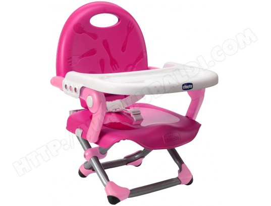 Rehausseur De Chaise CHICCO Pocket Snack Pink