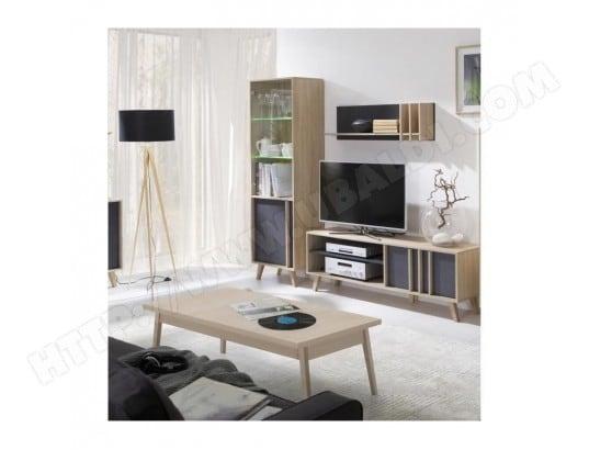Ensemble Design Pour Votre Salon Malmo Bibliotheque Meuble Tv Etagere Table Basse Price Factory Ma 76ca43 Ense Drq4g Pas Cher Ubaldi Com