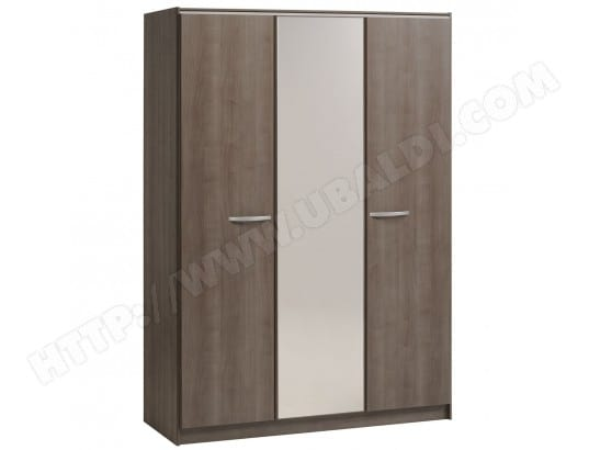 ceffyl armoire 3 portes avec penderie altobuy 10118 pas cher. Black Bedroom Furniture Sets. Home Design Ideas
