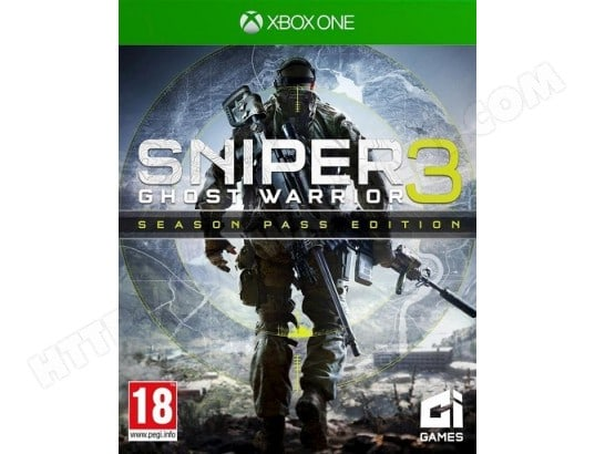 Sniper Ghost Warrior 3 XBOX ONE CITY INTERACTIVE MA-70CA463SNIP-JTWAY