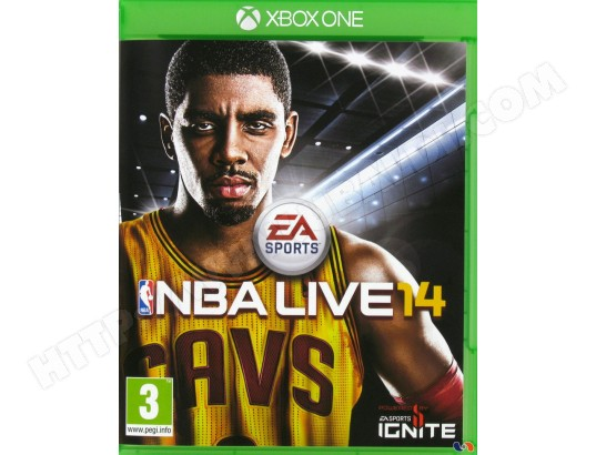 Jeu Xbox One ELECTRONIC ARTS NBA Live 14 Xbox One