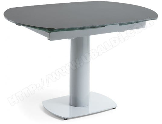 Table De Salle A Manger Lf Stephane Extensible 120 180 Ceramique Pas
