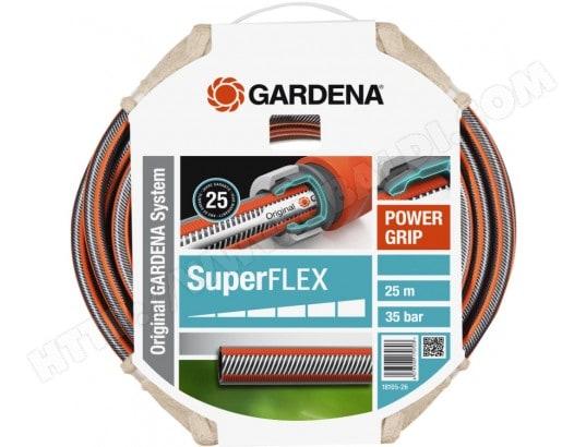 tuyau d 39 arrosage gardena 18113 20 tuyau super flex 19mm. Black Bedroom Furniture Sets. Home Design Ideas