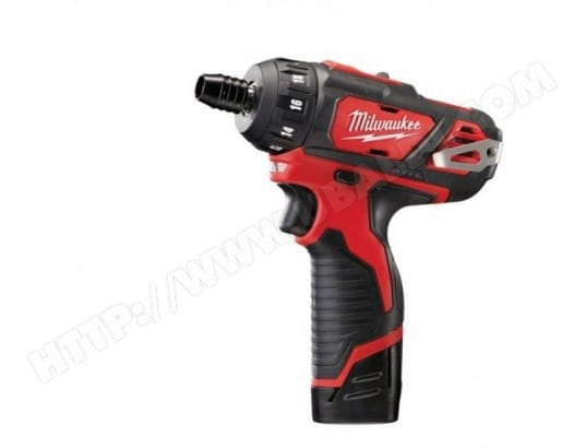 M12 BD-202CPerceuse/Visseuse 1 vitesse 2,0Ah, 30 Nm MILWAUKEE 4933441900