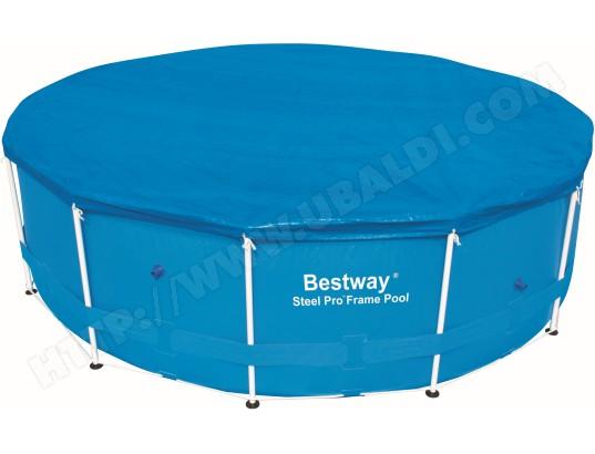 bache solaire piscine bestway b che 4 saisons ronde diam 366 58037 pas cher. Black Bedroom Furniture Sets. Home Design Ideas