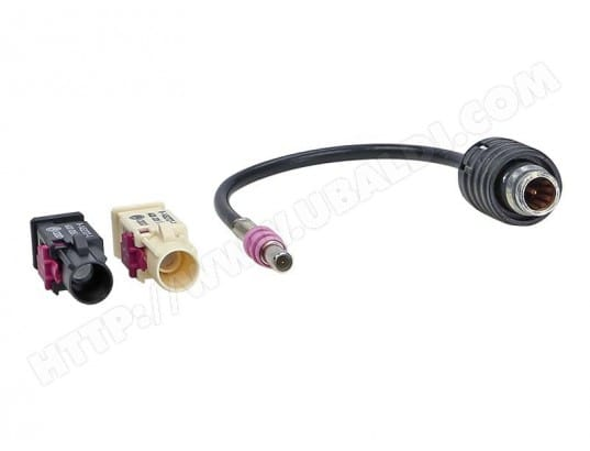 Adaptateur antenne BMW / Seat / VW HC 97 > Fakra AUTOLEADS MA-76CA252ADAP-OV48A