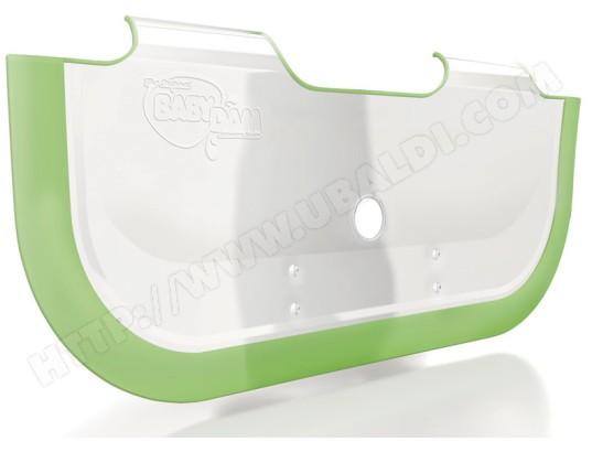 r ducteur de baignoire babydam s parateur de baignoire babydam 2 blanc vert pas cher. Black Bedroom Furniture Sets. Home Design Ideas