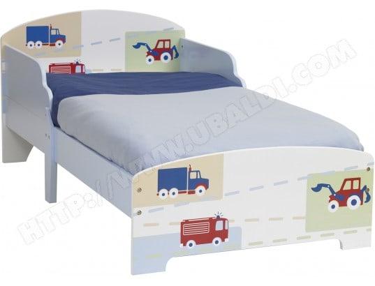 Lit Enfant Room Studio Vehicules Pour Matelas 140x70 862767 Pas