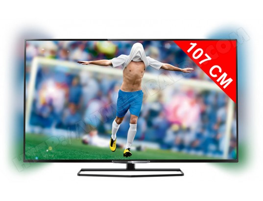 PHILIPS 42PFK6549 - TV LED Full HD 3D 107 cm - Livraison Gratuite 4e4c33d67409