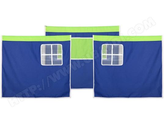 Rideau pour lit FLEXA Rideau pour lit bleu/vert Pas Cher | UBALDI.com