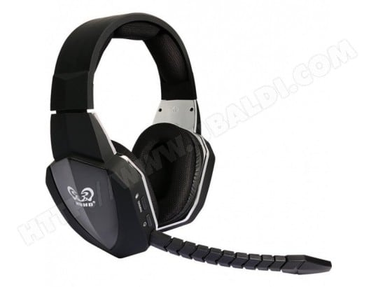 Tbd 49107 Casque Gaming Sans Fil Pour Ps4 Ps3 Xbox 360 Xbox One Pc
