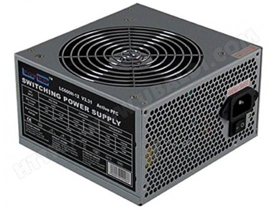 LC POWER - Alimentation ATX 600W - Office Series ( LC600H-12 ) LC POWER MA-78CA525LCPO-8ZB1N