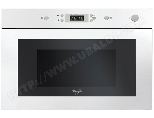 WHIRLPOOL AMW901WH Pas Cher - Micro ondes Encastrable WHIRLPOOL ... 941aff5169c5