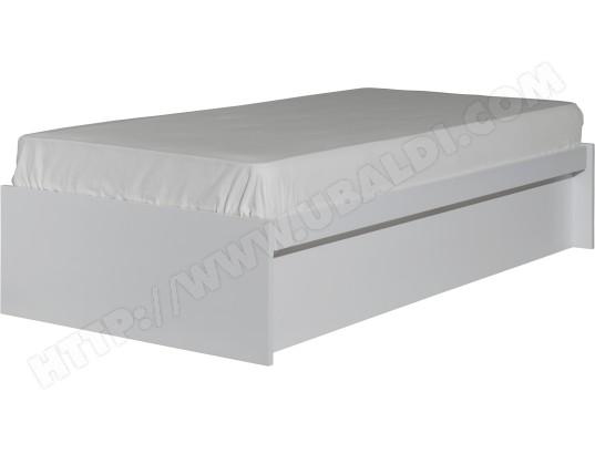 Sommier 90 X 190 Avm Lit Coffre Jumbo 90x190 Blanc Pas Cher Ubaldicom